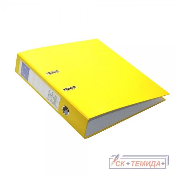 Класьори А4 7,5см Европа жълти