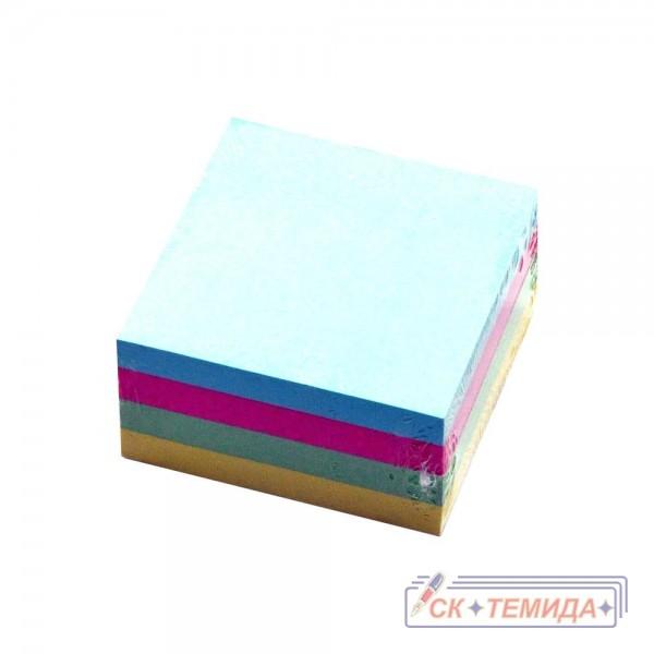 Кубчета самозалепващи 76/76  400 листа пастел микс