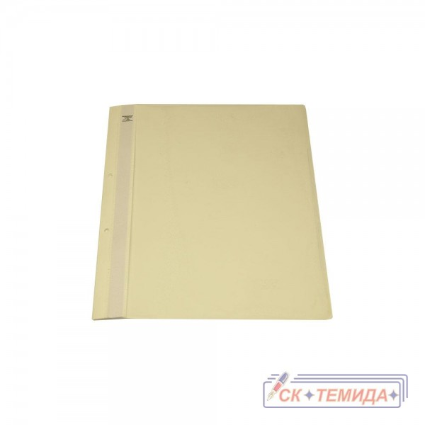Папка PVC с перфорация бяла