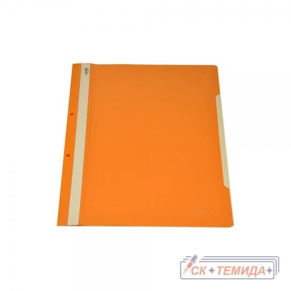 Папка PVC с перфорация оранж